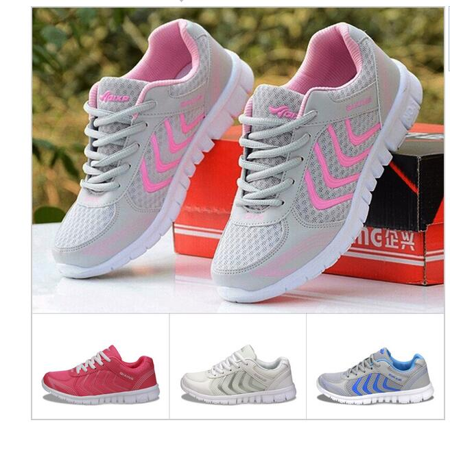 2016 Newest Summer Style Lightweight Women Walking Mesh Canvas Shoes Casual Ladies Slip On Flat Shoes breathable Tenis Feminino<br><br>Aliexpress