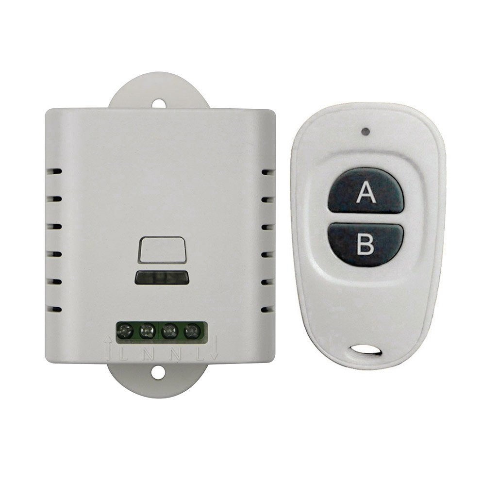 2017 new AC 85v 110v 120v 220v wireless remote control switch with manual button 1 receiver +2 (JRL-1)transmitter inter-lock<br><br>Aliexpress