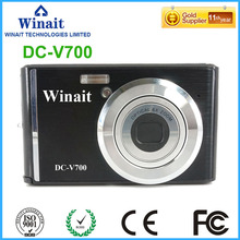 "Hot Sale Digital Compact Camera DC-V700 18MP Photographing FHD 1080P Professional Digital Camera 2.4"" LCD Display EIS Mini DVR(China)"