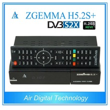 2 pcs/lot zgemma H5.2S+ DVB S2X satellite tv box DVB S2 + DVB S2X/S2 + DVB C/T2