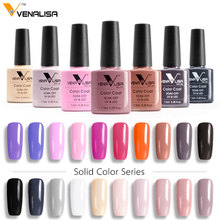 CANNI Nail Gel Polish High Quality Nail Art Salon Tips 61508 60 Colors 7.5ml VENALISA Soak off Organic UV LED Nail Gel Varnish
