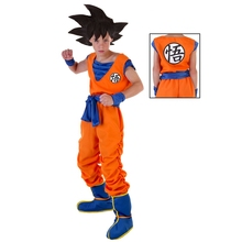 So Much To Love Child Goku Anime Dragon Ball Z Kids Favorite Character Cosplay Costume