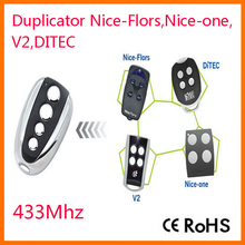 High quality RF Duplicator Nice-Flors, Nice-one , Ditec, V2 433.92Mhz rolling code remote control