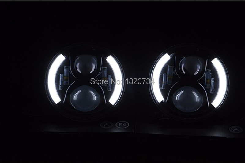 7 inch Round LED Headlight 13
