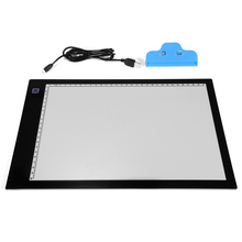 LED Tracing Light Box Board Tattoo A4 Drawing Pad Table Stencil Display AH211