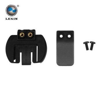 Livraison gratuite 1 pcs Clip pince Set accessoires pour pince LX-R6 1200 M moto Bluetooth casque Interphone Interphone