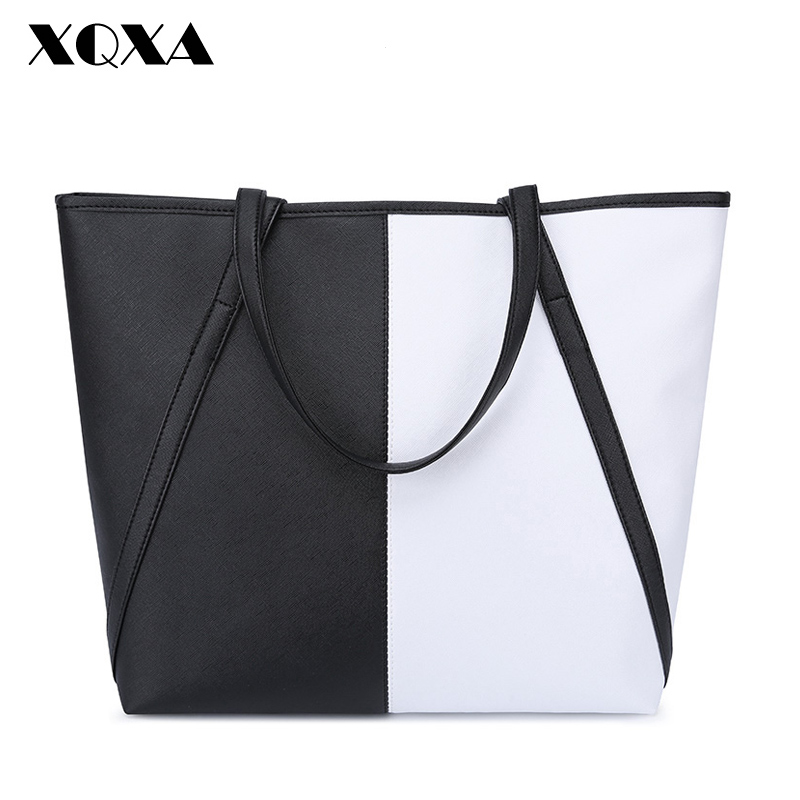 XQXA PU Women Shoulder Bags Female Light Weight Big Tote Bags Casual Large Capacity Ladies Handbag Designer Bolsas Femininas<br><br>Aliexpress