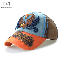 2016 Promotion Autumn And Winter Kids Snapback Hats Caps Letter Embroidery Children Baseball Cap Cotton Star Flat For 3~8 Years