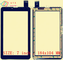 NEW 7 inch Touch Screen Digitizer Glass Panel replacement For Crown B705 / Digma Optima 7.07 3G (TT7007MG) / Explay Hit /S02 3G(China)