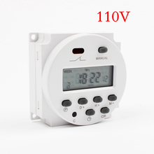 Stable Quality CN101A AC 110V 120V Digital LCD Power Timer Programmable Time Switch Relay 8A TO 16A CN101 TIMER weekly Time(China)