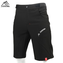 Buy SAENSHING Cycling Shorts Men Bicycle Downhill Mtb Shorts Adjustable Waist Mountain Bike shorts Sport Short Vtt bermuda ciclismo for $18.39 in AliExpress store