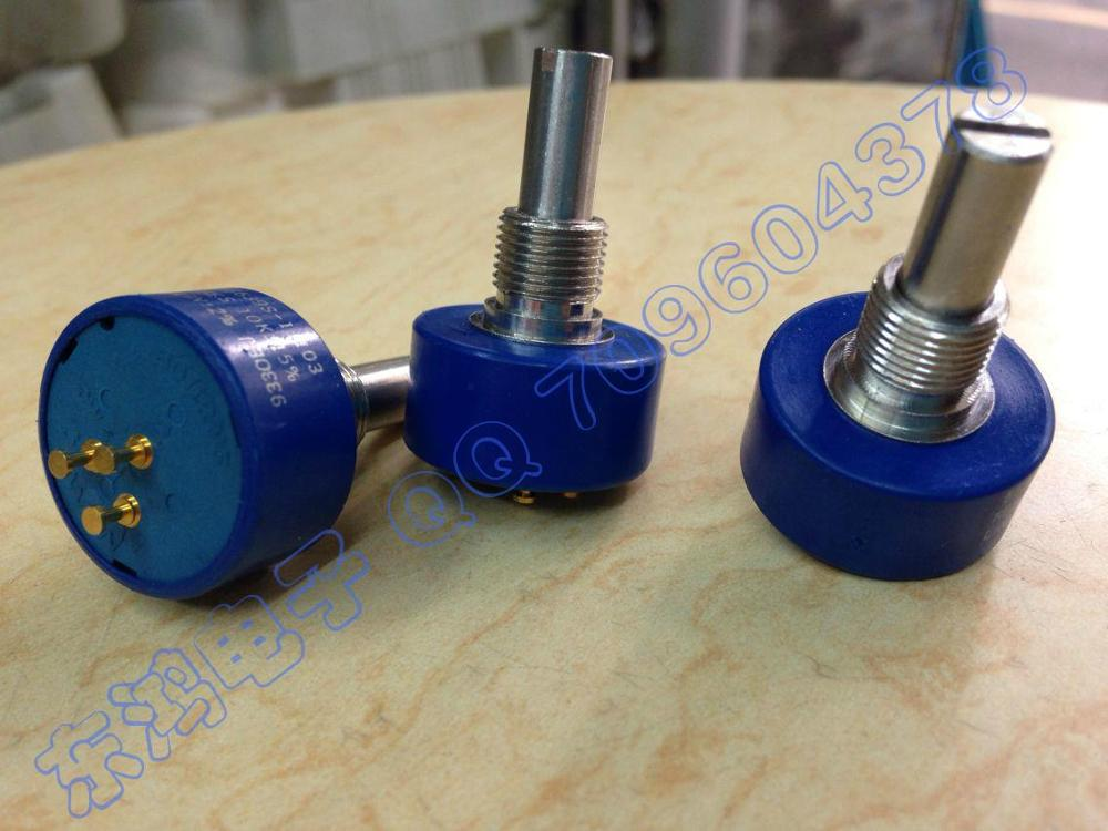 2pcs/bag Mexico potentiometer BOURNS 6639S--301-104 100K + 15%20MM circular axis.. RES..<br>