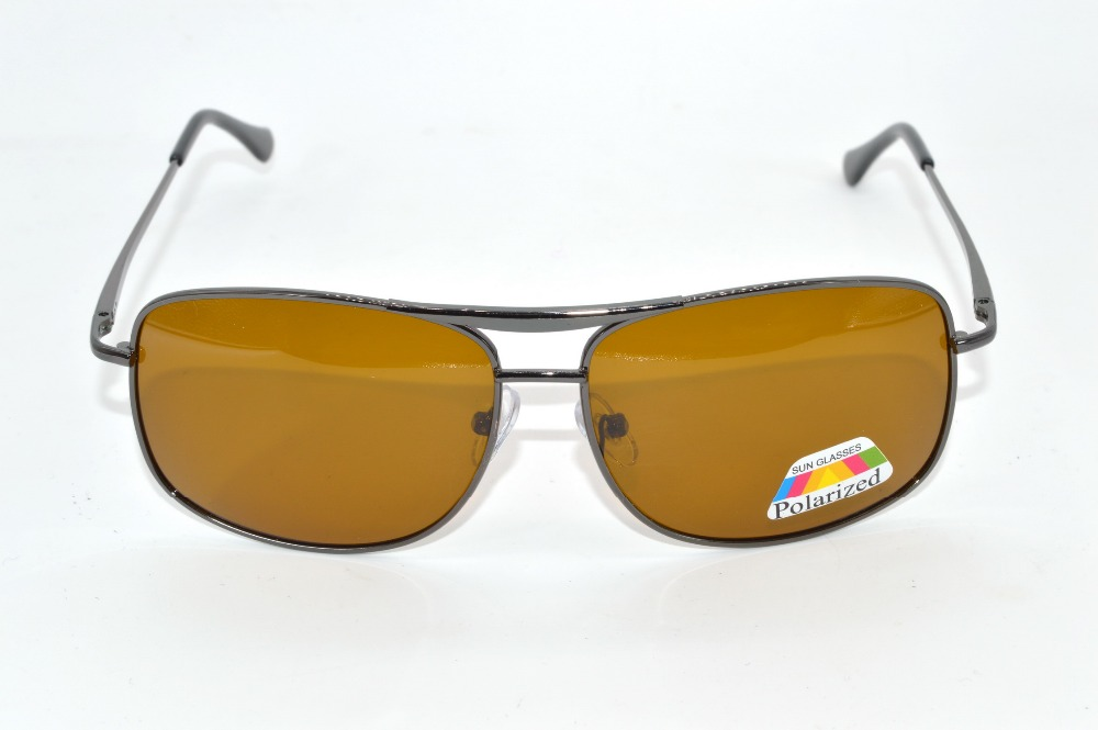 Custom Made Nearsighted Minus Prescription Sunglasses Polarized Double bridge Cool brown lenses spring temple -1 -1.5 -2 To -6<br><br>Aliexpress