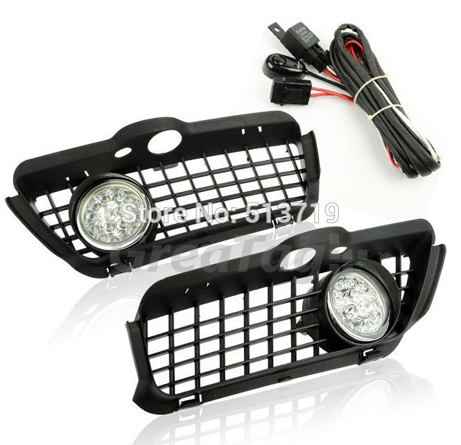 Dongzhen Fit For 92-98 VW GOLF JETTA MK3 DRL Daytime Running Light 8000K Auto LED Car LAMP FOG LIGHT BUMPER GRILLE Car Styling<br>