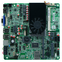 Motherboard for  Celeron dual-core industrial mini-1037U board double 8LVDS Nano motherboard,1 years warranty
