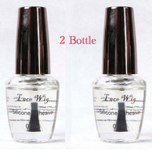2 bottle 0.5 OZ/ 15ml lace wig adhesive/glue solution for beauty salon use  2PCS/LOT super adhensive hair glue