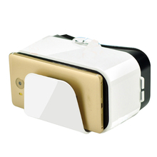 VR BOX Google VR Glasses Cardboard 3D VR BOX Headset Virtual Reality Watch Movie Games for Android Smartphones 3.5-6.6 Inch(China)