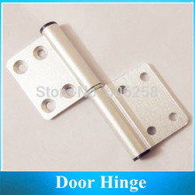 Furniture Hinge Aluminum Door Hinges Bathroom Door Hinge 10pcs(China)