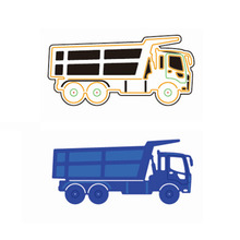 Adv-one Small Truck Metal Cutting Dies Stencils for DIY Scrapbooking/photo Album Decorative Embossing DIY Paper Cards