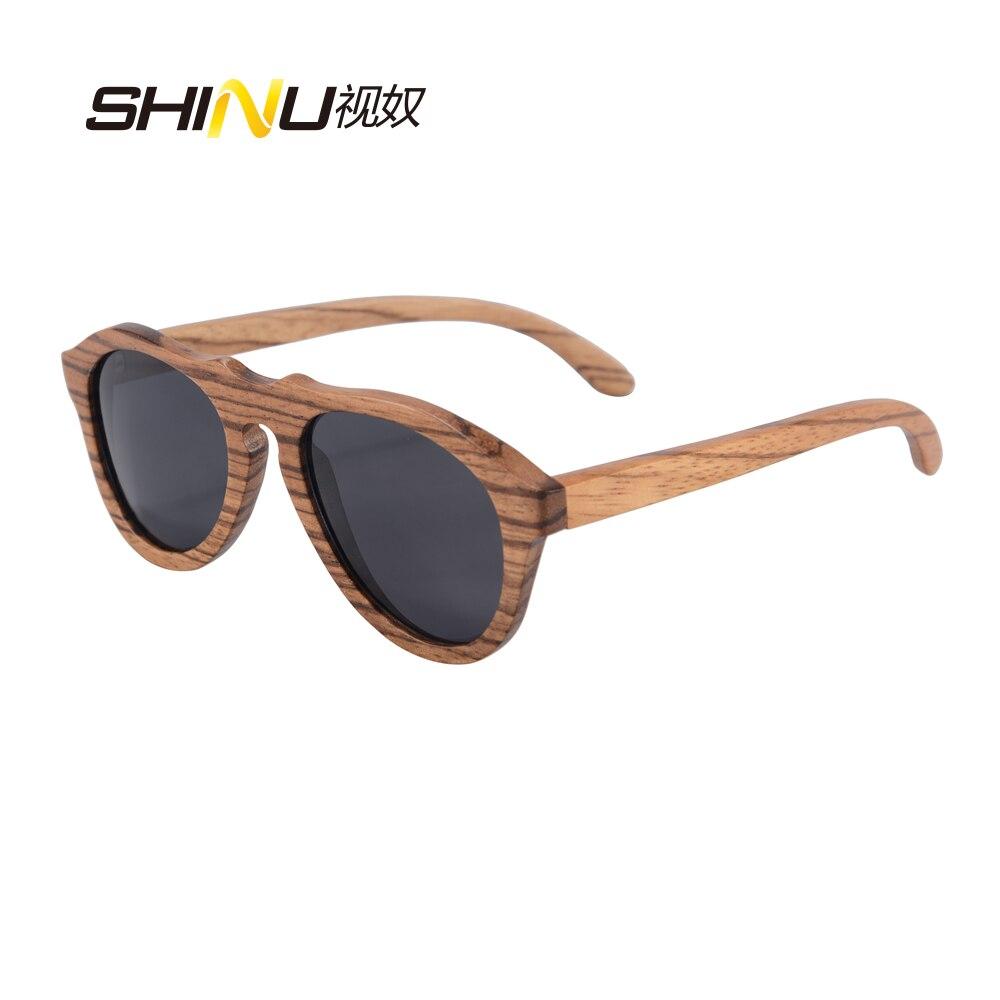 wood sunglasses bamboo handmade polarized mens women brand designer sun glasses with bamboo round box  z6027<br><br>Aliexpress