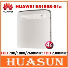 unlocked Huawei E5186 E5186s-61a Cat6 300Mbps LTE wifi router 4G FDD 700/1800/2600MHz TDD 2300MHz cpe wireless gateway