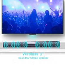 20W Portable Wireless Column Soundbar Bluetooth Speaker Powerful 3D Sound bar Super Bass Small Bar Aux 3.5mm Radio TF  For TV PC(China)