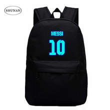 VN Brand Messi Bag 10# Night Luminous Backpacks Messi Fan Bag Star Backpack School Bag For Teenagers Best Birthday Gift For Kids