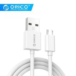 ORICO Micro USB быстрый заряд кабеля для передачи данных синхронизации 3A Максимальная сила тока для мобильных телефонов на Android samsung Galaxy S6 S4 S3 LG htc ...