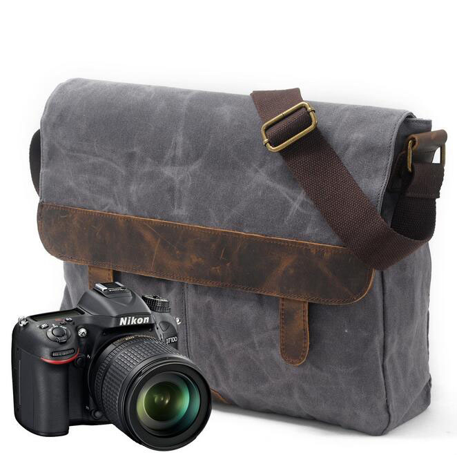 082117 yesetn bag men vintage single shoulder cross body tote camera bag<br>