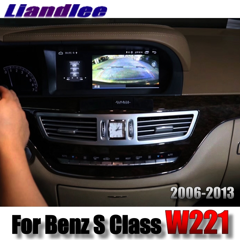 Liandlee Car Multimedia Player NAVI For Mercedes Benz S W221 S280 S320 S400 S600 S63 2006~2013 Accessories Radio GPS Navigation 6