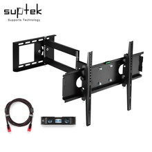 "Articulating TV Wall Mount Bracket for 26""-55""LCD LED Plasma 3D TV with VESA up to 400x400, Full Motion Tilt Swivel long arm(China)"