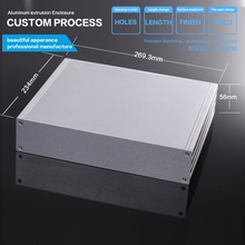 YGS-028 270*56*235/10.6''x2.2''9.25''(wxhxl)mm Aluminum power supply project enclosure