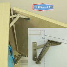 SHIP FROM US Kitchen Cabinet Door Lift Up Support Spring Hinge Door Stay