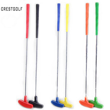 6pcs Mini Golf Putters Golf Clubs with rubber putter head and steel shaft,clubes de golf 6 colors,custom size