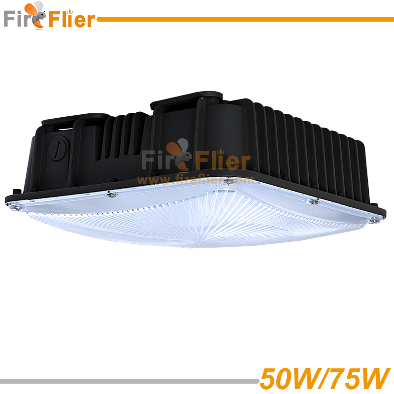 surface mounted led canopy light 75w