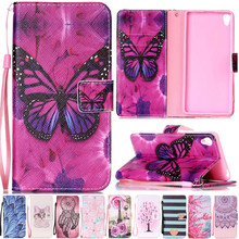 Buy Luxury Cute Cartoon Butterfly Leather Flip Fundas Case Coque Sony Xperia X XA X Performance F8132 XZ F8331 Dual F8332 Cover for $4.26 in AliExpress store