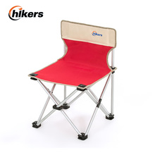 Aluminum Alloy outdoor leisure chair backrest folding portable fishing stool(China)