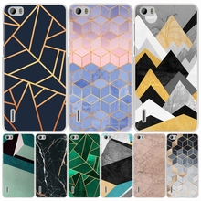 Marble Line Luxury cell phone Cover Case for huawei honor 3C 5A 4A 4X 4C 5X 6 7 8 Y6 Y5 2 II