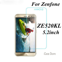 Ultra Clear 9H 0.26mm Water-Proof Scratch-proof Tempered Glass For Asus Zenfone 3 ZE520KL 5.2inch Screen Protectore Film Case