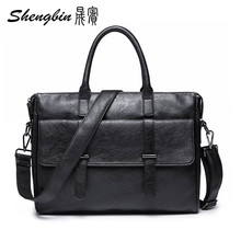 European style Document file PU leather Men Messenger Bag Tote Elegant Men's Briefcases Office Men's Crossbody Bags ZN10502