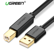 Ugreen USB Printer Cable USB Type B Male to A Male USB 3.0 2.0 Cable for Canon Epson HP ZJiang Label Printer DAC USB Printer(China)