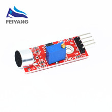 A37 1pcs SAMIORE ROBOT High Sensitivity Sound Microphone Sensor Detection Module For AVR PIC KY-037(China)