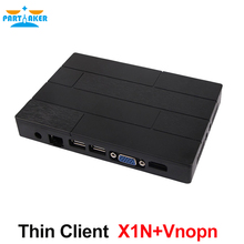 Thin Client with All winner A20 Dual Core Embedded Linux Vnopn Support PARTAKER X1N 512M RAM 4G Flash(China)
