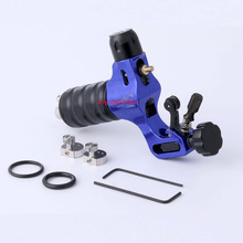 Tattoo Machine Blue Aircraft Alu Stigma  Prodigy Rotary Tattoo Guns Wholease Price For Tattoo Supply Free Shipping