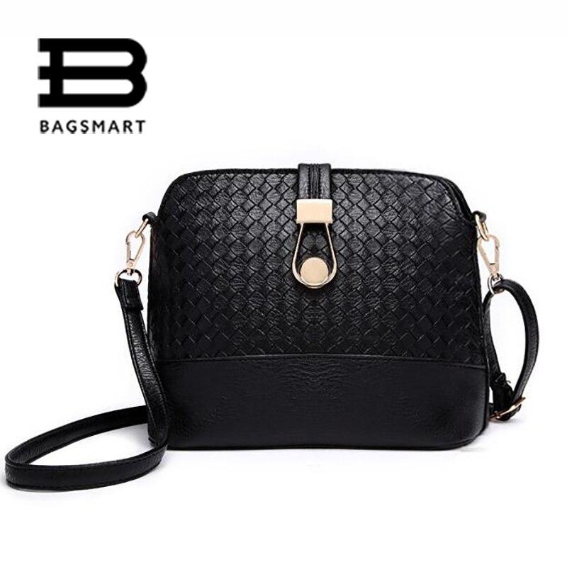 BAGSMART Candy Color Bags Women Shoulder Bag Ladies Beige Women Handbag Shell Bag Black Bolsas Femininas Woman Messenger Bags<br><br>Aliexpress