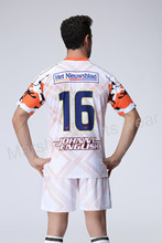 White Color soccer jersey,team soccer uniform customizing,new desgin soccer kits(China)