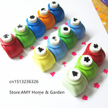 Mini  Kids gift scrapbooking punches Handmade Cutter Card Craft Calico Printing DIY Flower Paper Craft Punch Hole Puncher Shape