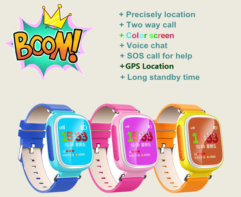 New Arrival Colorful GPS  Q80 Q60 Smart baby Watch Wristwatch SOS Call Location Finder Locator Device Tracker Kid Safe Anti lost<br><br>Aliexpress