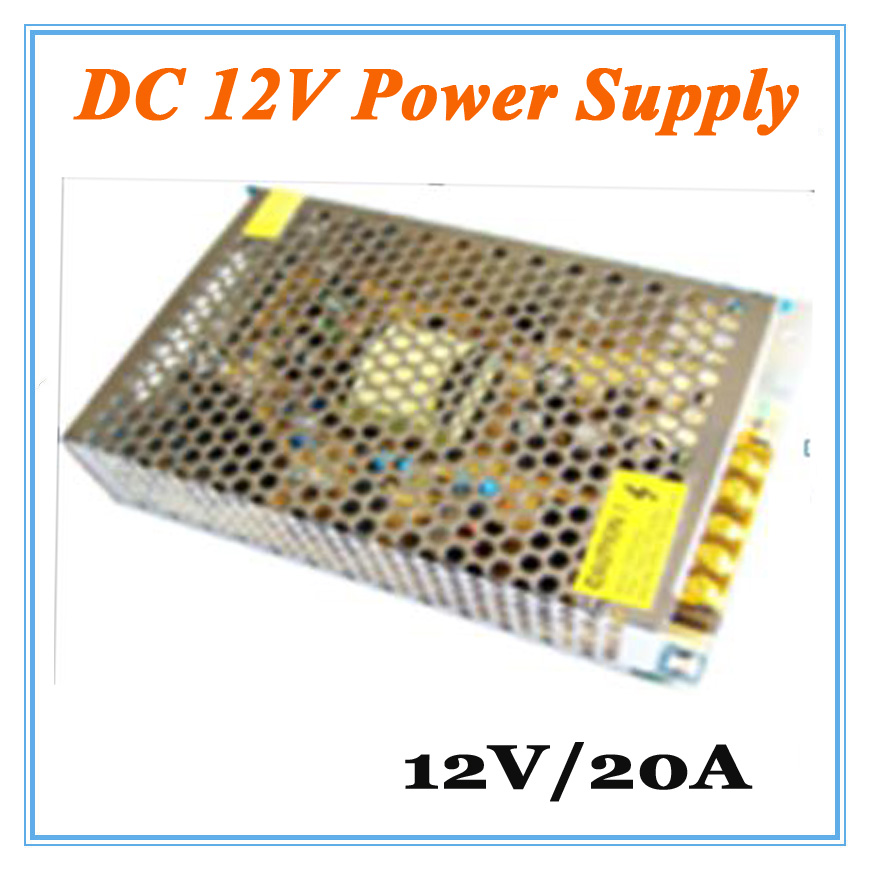 DC12V 20A  Power Supply Adaptor for CCTV Camera CCTV System 12V Security professional Converter Adapter<br><br>Aliexpress