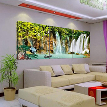 the art of sunrise at sea the situation decorative painting canvas painting on canvas room modular photo no training